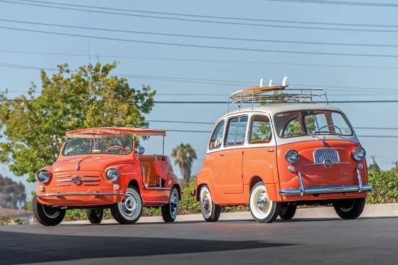 1960 FIAT 600 JOLLY & 1958 FIAT 600 MULTIPLA