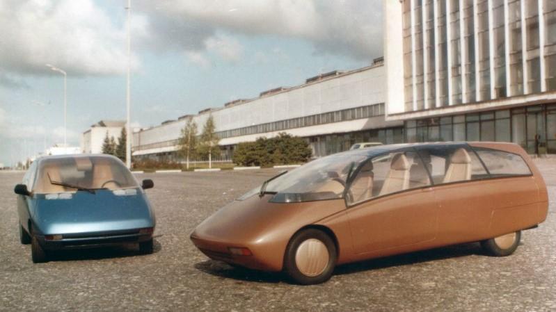 Отечественные автомобили не попавшие в серию