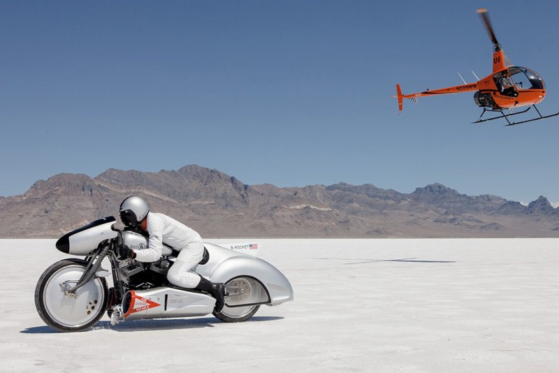 Bell & Ross B-Rocket - самые необычные мотоциклы мира