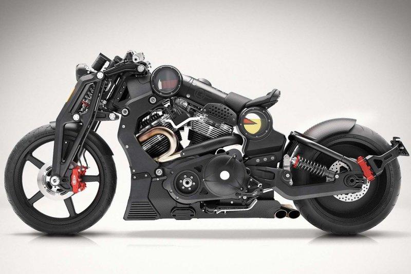 Confederate G2 P51 Combat Fighter - самые необычные мотоциклы мира