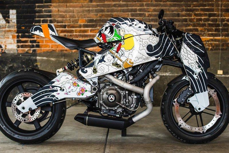 Teraoka Nobuyuki - самые необычные мотоциклы мира
