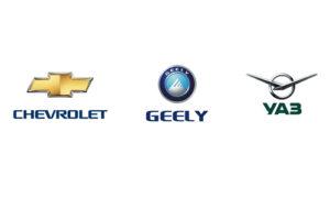 Chevrolet, Geely, UAZ в Астане