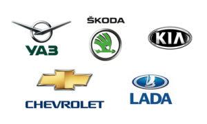 KIA, Lada, Chevrolet, Skoda, UAZ в Алмате