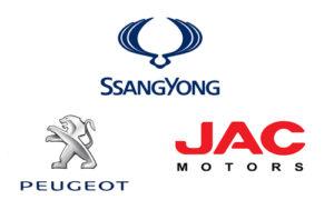 JAC, Peugeot, SsangYong в Атырау