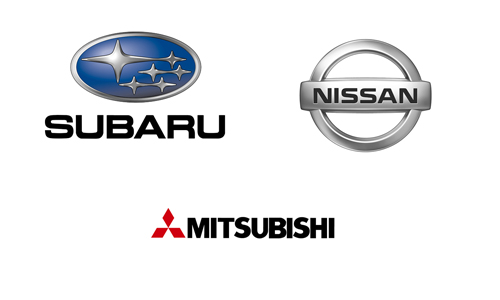 Nissan, Mitsubishi, Subaru в Актау