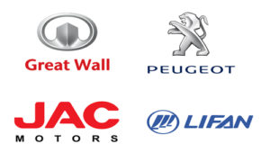 JAC, Peugeot, Lifan, SsangYong, Great Wall в Актау