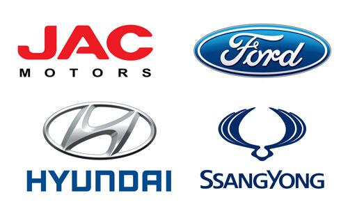 Hyundai, Ford, JAC, Subaru и SsangYong в Кокшетау