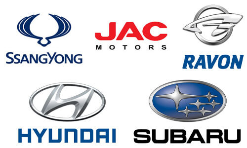 Hyundai, Ravon, JAC, Subaru и SsangYong в Павлодаре