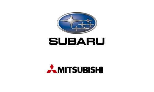 Mitsubishi, Subaru в Актобе