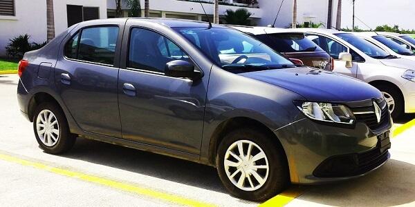 Первое место Renault Logan