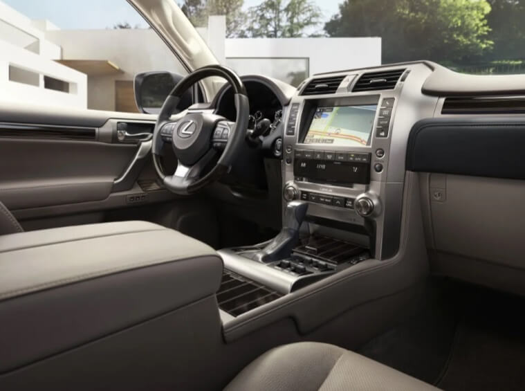 Обновленный Lexus GX 460