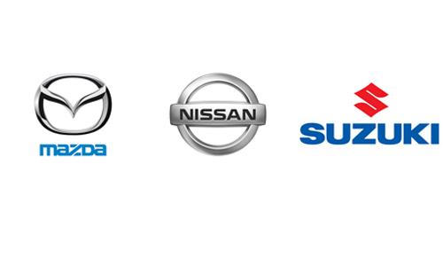 Nissan, Suzuki, Mazda в Астане