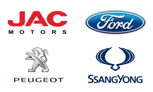 Ford, JAC, Peugeot, SsangYong в Астане