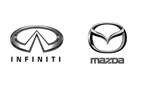 Infiniti, Mazda в Алмате