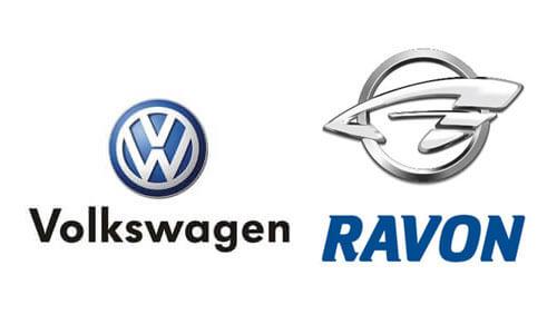 Ravon и Volkswagen в Уральске