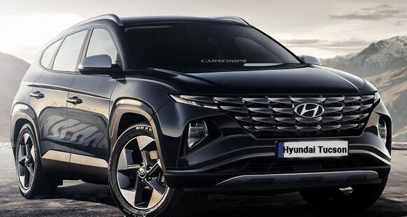 Новый Hyundai Tucson первичная информация о новинки