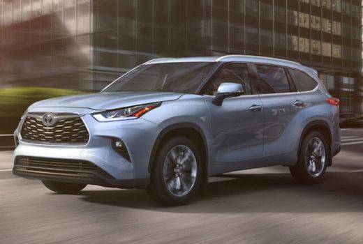 Новый Toyota Highlander 2020