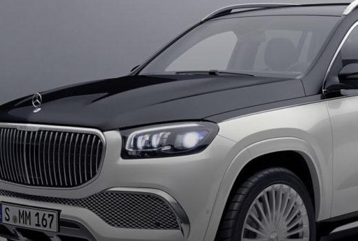внедорожник Mercedes-Benz Maybach