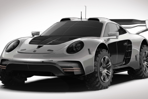 Внедорожник Porsche 911 от авто ателье