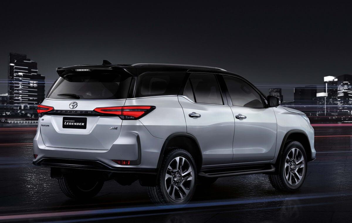 Обновленный Toyota Fortuner 2020