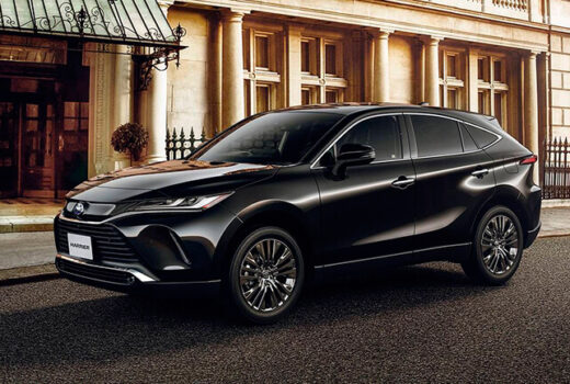 Новый Toyota Harrier