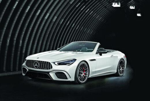 Первые фото нового Mercedes-Benz SL 2021