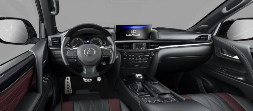 Cтартуют продажи Lexus LX Heritage V8 и LX Heritage Black Vision V8