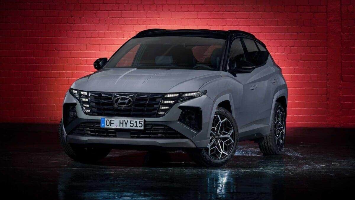 Новый кроссовер Hyundai Tucson N Line спортивная версия