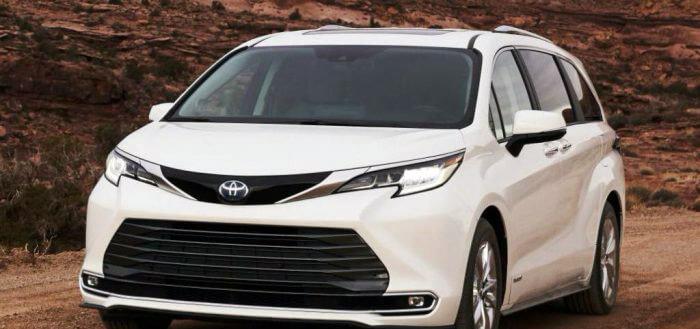 Новый минивэн Toyota Sienna 2021