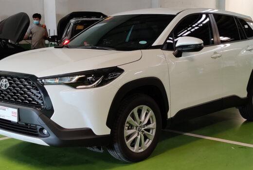 Toyota Corolla Cross от японского бренда