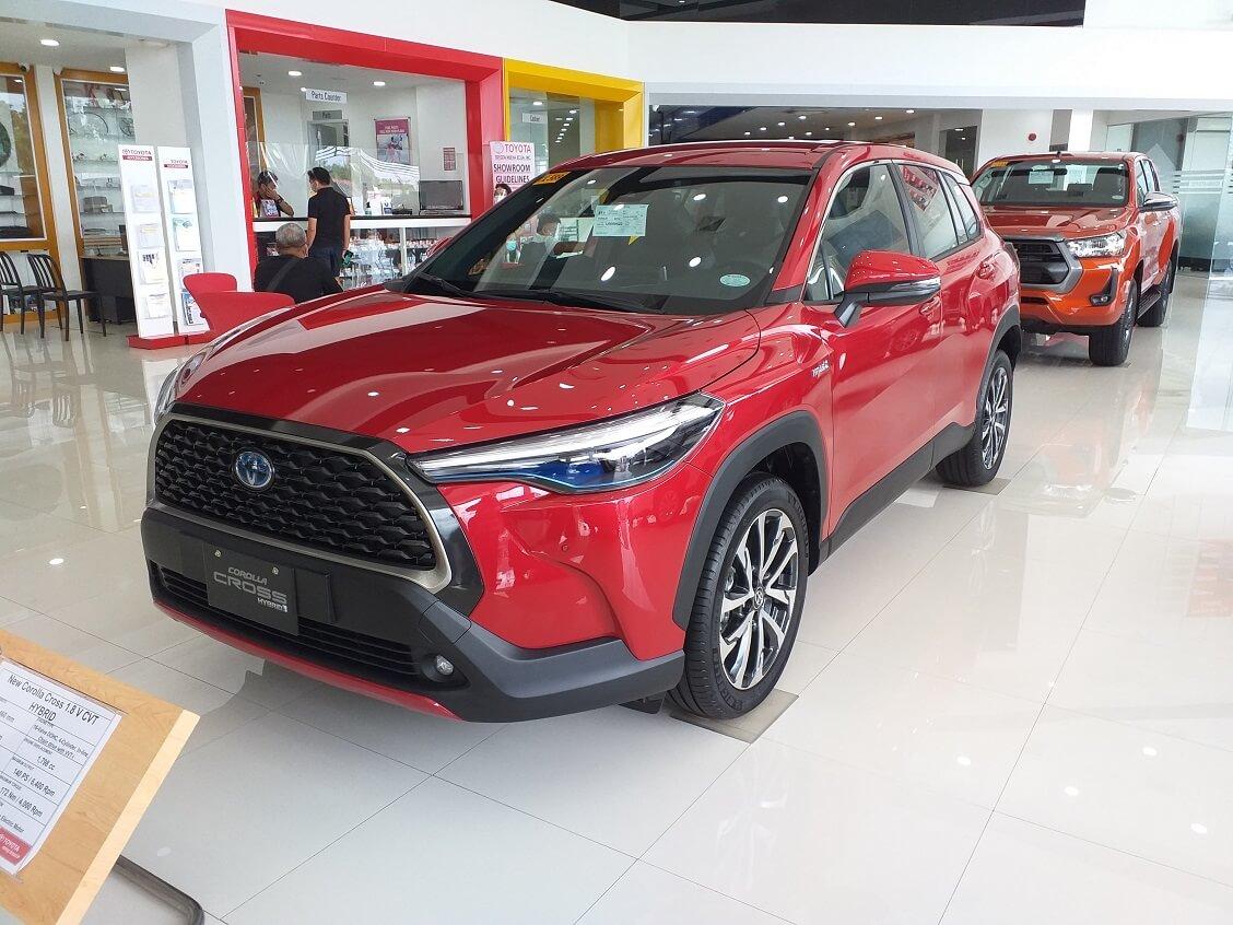 Toyota Corolla Cross 2021 фото