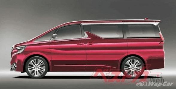 Toyota Alphard 2022 - первые подробности
